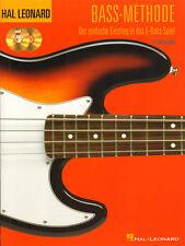 Hal Leonard Bass Methode Ed Friedland deutsche Ausgabe Noten mit 2 CDs