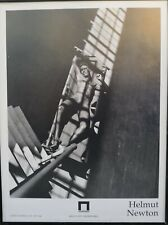 Helmut Newton poster of italian exhibition, 1994. 60x80 cm