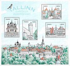 Frankreich Mi.Nr. Block 390** (2018) postfrisch/Hauptstädte Europas - Tallinn