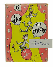 SIGNED ~ If I Ran the Circus ~ DR. SEUSS ~ First Edition ~ DJ ~ 1st Printing
