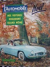 revue L'AUTOMOBILE 1956 2 CV DAGONET / VOLVO 444 / LOTUS F II + COOPER CLIMAX