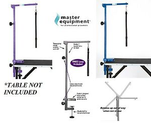 """PRO Heavy Duty PET DOG CAT Grooming FOLDABLE&ADJUSTABLE 48"""" TABLE ARM&CLAMP&LOOP"""