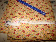 """Vtg STORYTIME MODE 36'' 42"""" Juvenile Novelty Print 100% Cotton quilting Fabric"""