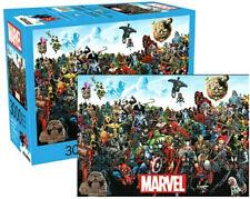 Limited Marvel Comics Cast Captain America, Hulk, Thor 3,000-Piece Puzzle