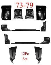 73 79 Ford 12Pc Rocker, Door Post & Cab Corner Kit, Regular Cab, Super Cab Truck