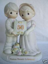 "Enesco ""Precious Moments To Remember"" 50th Anniversary 6.5"" Tall Figurine"