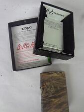 VINTAGE 2006 ZIPPO REALTREE CAMO LIGHTER IN BOX NEVER USED   M-108