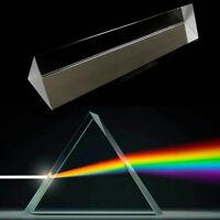 Optical Glass Triangular Photography Prism Light Physics Spectrum Aid Useful