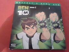 BEN 10 TEMPORADA 1 ESTUCHE 3 DVD COMPLETO VF NIÑOS