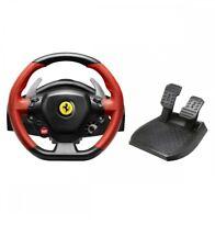 Thrustmaster Ferrari 458 Spider Steering Wheel Xbox One Pedals Metal Genuine New