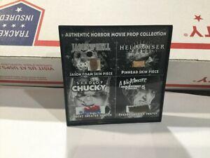 Horror Movie Prop Display - Friday the 13th Freddy Jason Chucky Screen Used COA