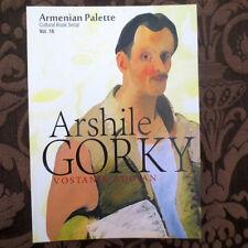 ARSHILE GORKY Vostanik Adoian- ARMENIAN PALETTE #16; Arshil Gorki ART Artist USA
