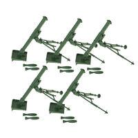 5pc Military Mortar Toys Sand Table Model Layout for Soilder Men