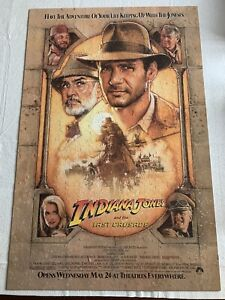 1989 Indiana Jones and the Last Crusade 500 Piece Movie Poster Puzzle