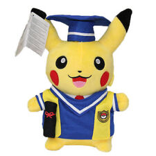 "Doctor Graduation Pokemon Pikachu Pocket Monster 10"" Plush NEW ITEM"