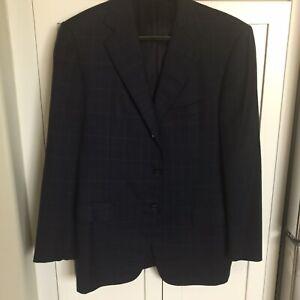 Ermenegildo Zegna Men's 100% Cashmere Jacket Blazer Coat 50 - 40