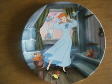 """A Dream Is A Wish Your Heart Makes"" Disney Collector Plate ~ Knowles"