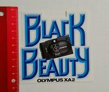 Aufkleber/Sticker: Black Beauty Olympus XA2 Camera (150616110)