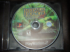 Medal of Honor: Rising Sun Sony PlayStation 2 PS2 2003 FPS Shooter Free Shipping
