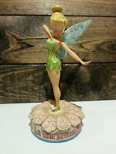 Jim Shore Walt Disney Traditions Tinker Bell Let Your Dreams Blossom Figurine