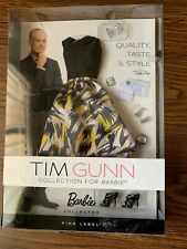 Tim Gunn Barbie Collection Fashion Accessory Pack Yellow Black Skirt W3464