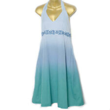 Stetson Womens Western Halter Ombre Cotton Dress Small NWT