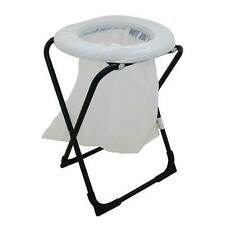 OZTrail Folding Toilet Chair With Disposable Waste Bags FCM-TOIB-A