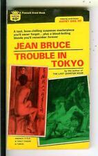TROUBLE IN TOKYO by Bruce, Crest #K806 spy Asian Japan gga pulp vintage pb