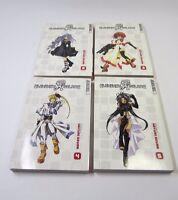 Elemental Gelade Volumes 2-5 by Mayumi Azuma (Tokyopop, English Manga Lot)
