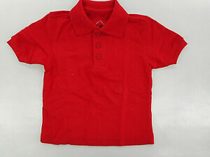 Boys R/K Platinum Red Uniform/Casual Polo Shirt Sizes XXSmall & XSmall