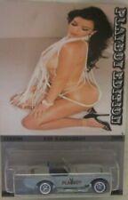 Hot Wheels CUSTOM SHELBY COBRA 427 S/C Playboy Kim Kardashian Real Riders 1/18