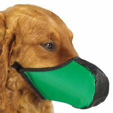 ProGuard Pets Softie Muzzle for Dogs, Large Green