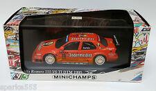 1/43 Minichamps PMA Alfa Romeo 155 V6 #19 Jagermeister DTM 1995 Michael Bartels