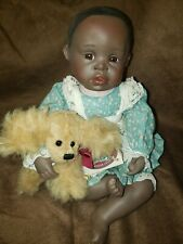 Porcelain baby doll 13""