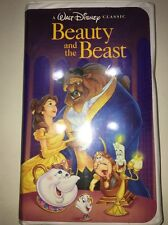 Beauty And The Beast VHS Tape 1992 Walt Disney's Black Diamond Classic-1325 RARE