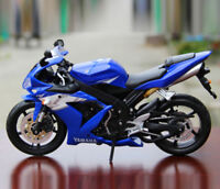 1:12 YAMAHA YZF-R1 Metal Model Diecast Motorcycle Maisto Collectible Gift Blue