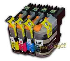 4 LC125XL / LC127XL Ink Cartridge Set For Brother Printer MFCJ4710DW non-OEM
