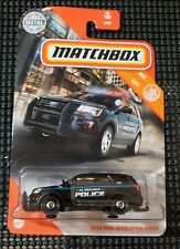 2020 Matchbox 2016 ford interceptor utility NEW in hand El Segundo POLICE