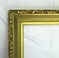 "BIG FITS 14"" X 18""  GOLD GILT ORNATE WOOD PICTURE FRAME FINE ART VICTORIAN"