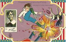 Fotograph Your Boy Before 4th Of July Comic Fireworks Postcard c1910