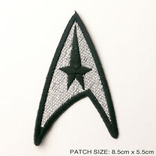 STAR TREK - Classic Command Crew Insignia Patch SILVER!