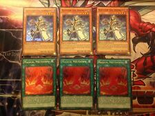 *** 3X ALEISTER THE INVOKER + 3X MAGICAL MELTDOWN *** FUEN-EN026, EN034 YUGIOH
