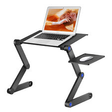 Neewer Portable Laptop Stand/Desk/Table Vented with CPU Fans and Mouse Pad Side