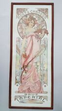 Reproduction Affiche Mucha