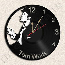 Tom WAITS Wall Clock Vinyl Record Clock