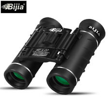 BIJIA 40X22 Mini Folding Pocket Binoculars Compact Travel Telescope US Location
