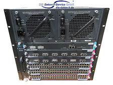 Cisco Catalyst 4506 4500 Series WS-C4506 WS-X4013+ WS-X4306-GB WS-X4548-GB-RJ45