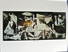 Pablo Picasso  Guernica poster  Offset Lithograph Unsigned 14x11