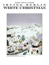 White Christmas Sheet Music Piano Vocal Guitar Piano Vocal NEW Irving  000005256