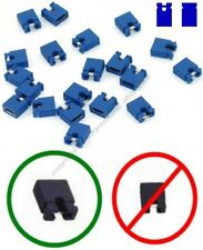 "Lot100Jumper/Jump Block 2.54mm/.1""Computer/HD/CD/DVD/SCSI/PCB/Circuit Board{BLUE"